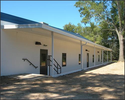 Church classroom entrances